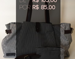 BLACK FRIDAY Bolsa Balde + Mini Necessaire Listras