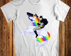 Camiseta Batman Unicórnio