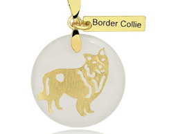 Pingente Pet - Border Collie
