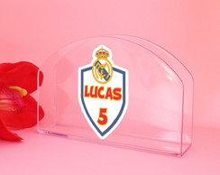 ed55952706 ... Porta-guardanapo de mesa com texto - Real Madrid