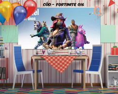 - decoracao de aniversario tema fortnite