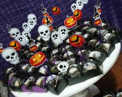 Tag para doces Halloween