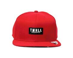 ... Boné Tom Hill Florido vermelho Aba Reta Snapback 6391fa00ec1