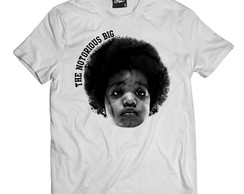 Camiseta Kid Biggie Camisa Masculina Notorious Big Rapper