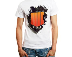 Camiseta Games Call Of Duty Black Ops 4 Camisa Jogos Roupas