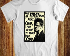 Camiseta Fight Club clube de luta
