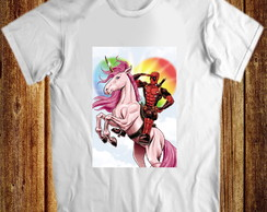 Camiseta Deadpool unicornio