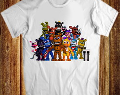 Camiseta five night at freddy