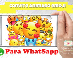 Convite Animado Emoticon