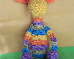 Amigurumi Girafa Colorida