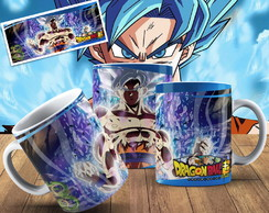 Caneca Dragon Ball Goku Super Sayajin Caneca Anime Geek