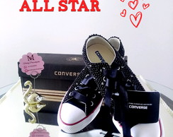 ... TÊNIS ALL STAR COM PÉROLAS E CRISTAIS 8c1177d1cd12f