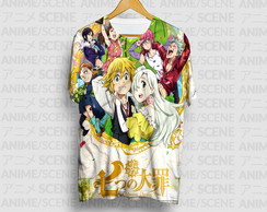 Camiseta The Seven Deadly Sins - Nanatsu No Taizai