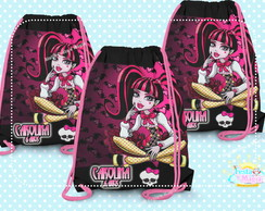 Mochilinha Personalizada Monster High