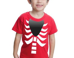 Camiseta Fortnite Infantil Caveira Halloween