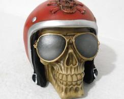 ... Crânio Capacete Com Óculos G vermelho 55bcf6c7d2
