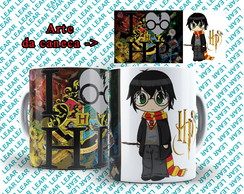 Caneca Branca Harry Potter #31