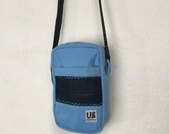 Shoulder Bag Mini Azul Claro