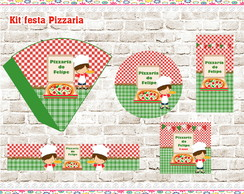 Kit festa digital Pizzaria