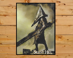 Quadro Decorativo Pyramid Head Silent Hill Playstation A3