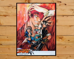 Poster Quadro The King Of Fighters Playstation 1