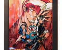 Quadro Poster C.moldura The King Of Fighters Playstation 1