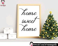 Quadro Decorativo HOME SWEET HOME 1