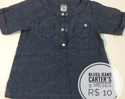 Blusa Jeans Carter's