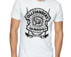 Camiseta Camisa Harry Potter Olivaras wands/Varinhas