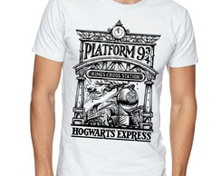 Camiseta Camisa Harry Potter Plataforma 9 3/4