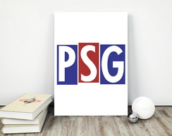 Placa decorativa 15x20cm PSG