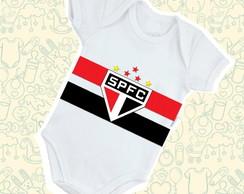2199b83b9a Body Infantil Bebê SPFC Futebol B029BR
