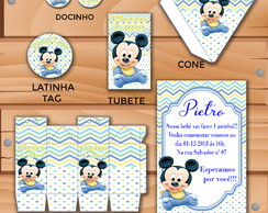 kit festa digital mickey baby