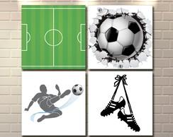 Placa Decorativa Mdf Bebe Bola Futebol  33ca5efb85ff6