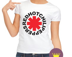Camiseta Babylook Red Hot Chili Peppers 01