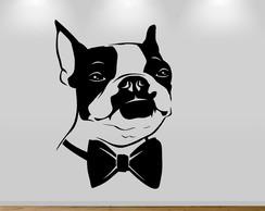 b4b726b5741 ... Adesivo de Parede - Bulldog Francês de Gravata
