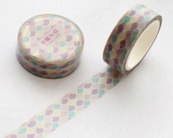 Washi Tape - Ondas Coloridas