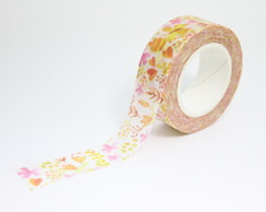 Washi Tape - Flores Coloridas