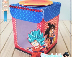 Caixa com visor dragon ball