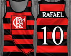 Regatas personalizada - Times Flamengo c61743e358bbd