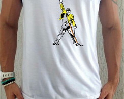 Camiseta Regata Queen Banda Rock