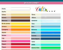 Papel Color Plus 120g A4 50 folhas