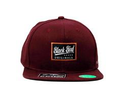 29acc62b01 Boné Black Bird 5 Estrelas Original Aba Reta Snapback no Elo7 | New Time  Cap (DCCE62)