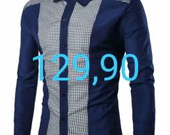 4c80a68f3a9 Camisa Social Manga Longa no Elo7 | Geovanny Camisaria (DCF356)