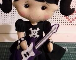 Boneca Com Guitarra Elo7
