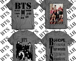 KIT com 4 Camiseta BTS #2