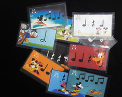 Flashcards musical da Minnie e Mickey