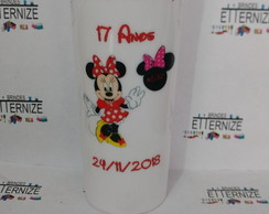 COPO LONG DRINK PERSONALIZADO MINNIE