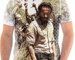Camiseta Black Friday The Walking Dead Rick Tamanho G