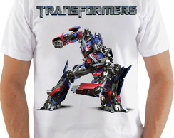 Camiseta Transformers Optimus Prime